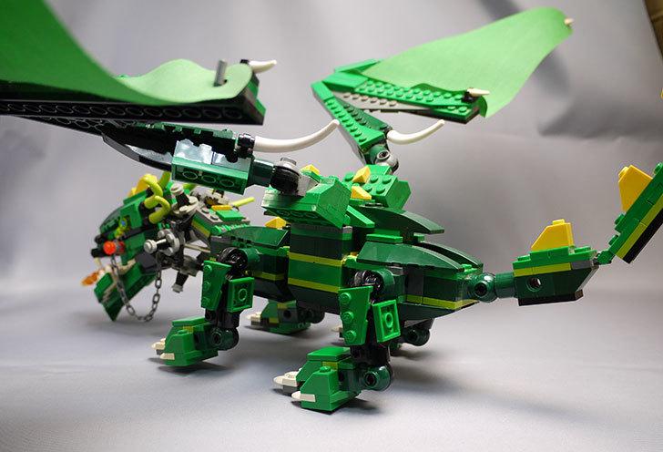LEGO-4894-グリーンドラゴンの掃除をしたので写真を撮った9.jpg