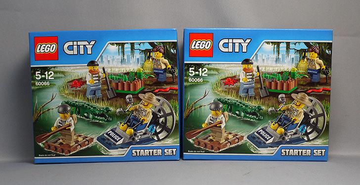 LEGO-60066-ポリス~沼地で追跡~スタートセットが届いた1.jpg