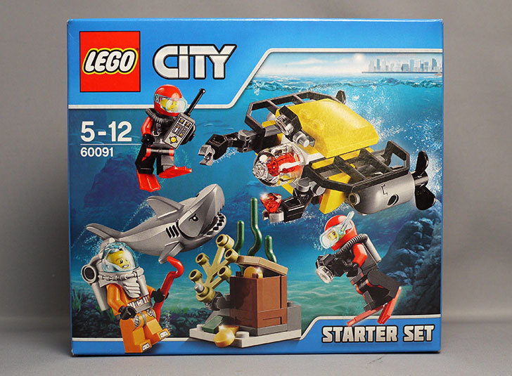 LEGO-60091-海底調査スタートセットが届いた1.jpg