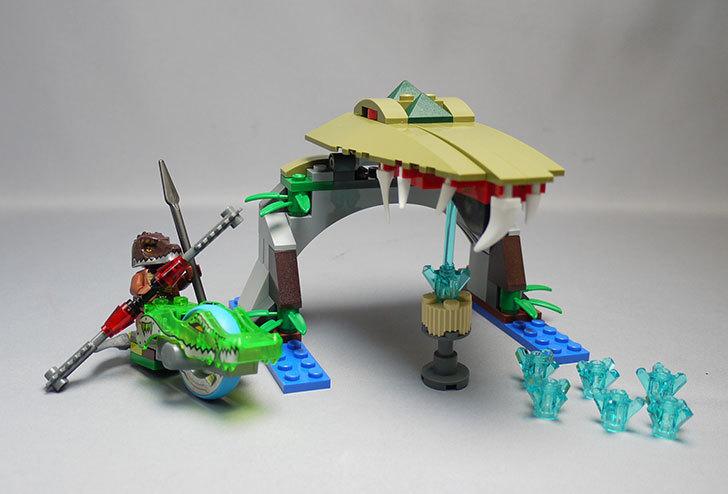 LEGO-70112-チーマ-ガブッと-わにの口を作った1.jpg