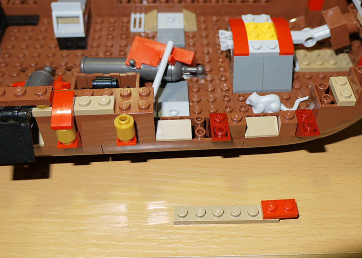 LEGO-70413-海賊船の改造を始めた3-3.jpg