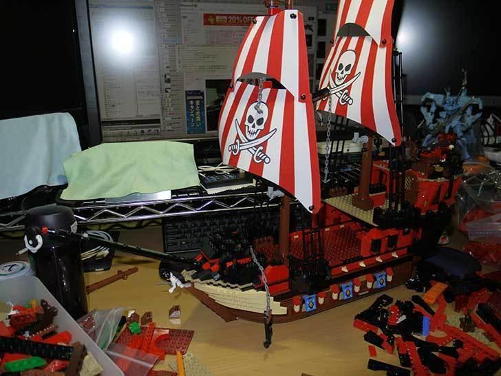 LEGO-70413-海賊船の改造を始めた7-17.jpg