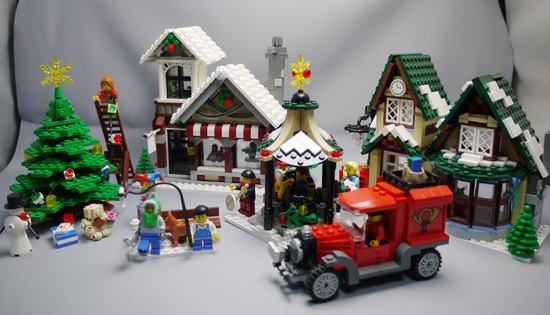 LEGO 10199 クリスマスセット作成10.jpg