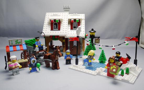 LEGO 10216 ウィンタービレッジベーカリー作成1.jpg