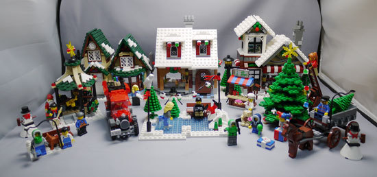 LEGO 10216 ウィンタービレッジベーカリー作成10.jpg