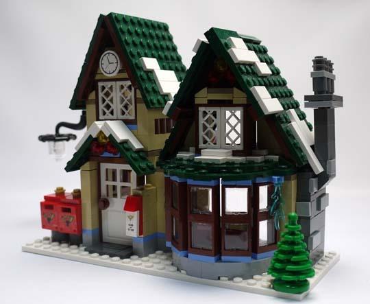 LEGO 10222 ウィンターポストオフィス 作成3.jpg