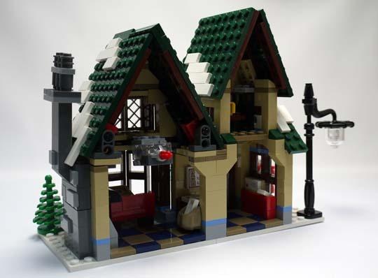 LEGO 10222 ウィンターポストオフィス 作成4.jpg