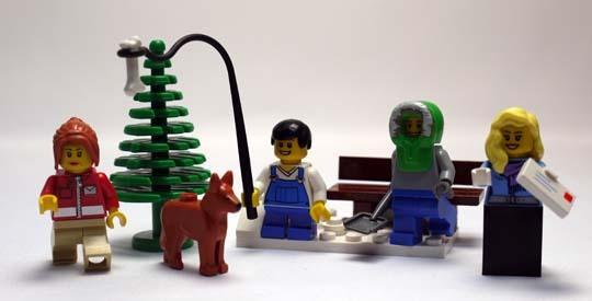 LEGO 10222 ウィンターポストオフィス 作成7.jpg