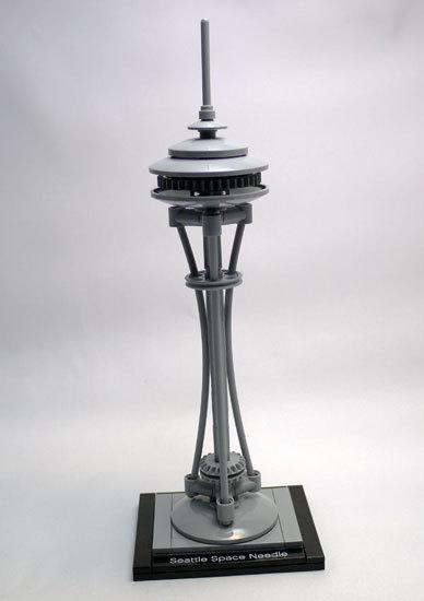 LEGO 21003 スペース ニードル タワー作成1.jpg