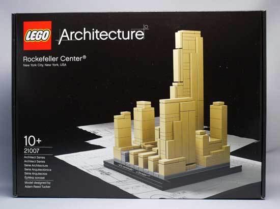 LEGO 21007 ロックフェラーセンター 2-1.jpg