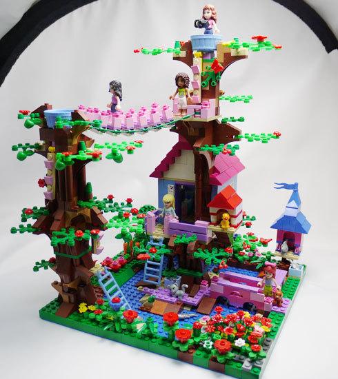 LEGO 3065 ツリーハウスを改造 1-1.jpg