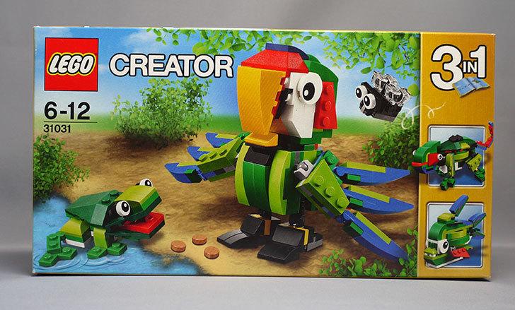 LEGO 31031 熱帯の動物たちが届いた1.jpg
