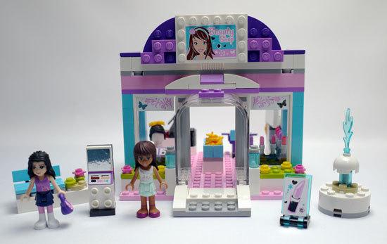 LEGO 3187 ビューティーサロン 作成1.jpg