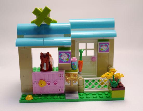 LEGO 3188 ハートレイクのアニマルクリニック 作成5.jpg