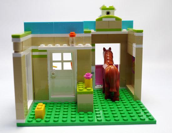 LEGO 3188 ハートレイクのアニマルクリニック 作成6.jpg