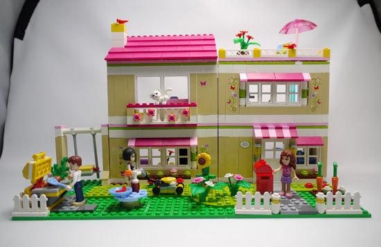 LEGO 3315 ラブリーハウス 作成1.jpg