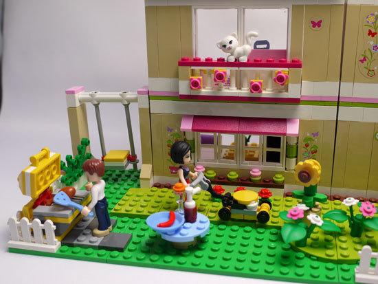 LEGO 3315 ラブリーハウス 作成3.jpg