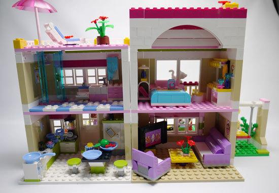 LEGO 3315 ラブリーハウス 作成6.jpg