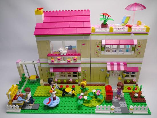 LEGO 3315 ラブリーハウス 作成8.jpg