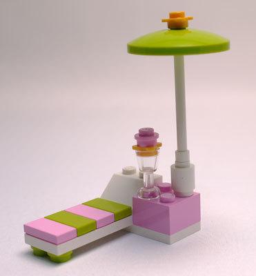 LEGO 3931 ハッピープールサイド 作成3.jpg