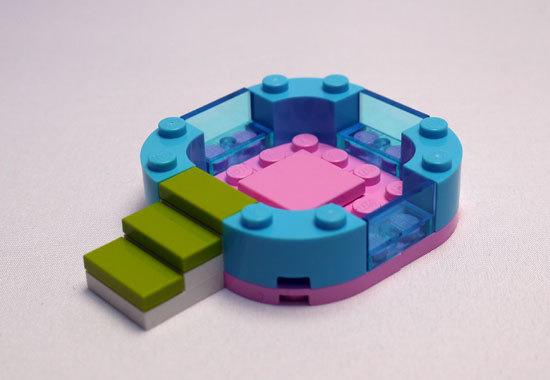 LEGO 3931 ハッピープールサイド 作成4.jpg