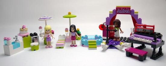 LEGO 3931 ハッピープールサイド 作成7.jpg