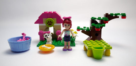 LEGO 3934 パピーハウス 作成 1.jpg
