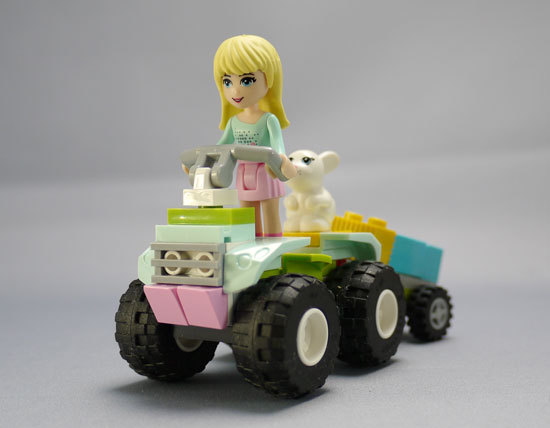 LEGO 3935 カラフルジープ 3935 作成 4.jpg
