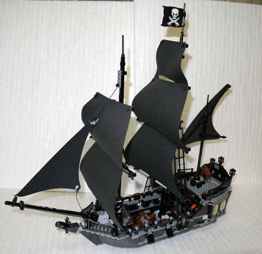 LEGO 4184 ブラックパール号 作成 1.jpg