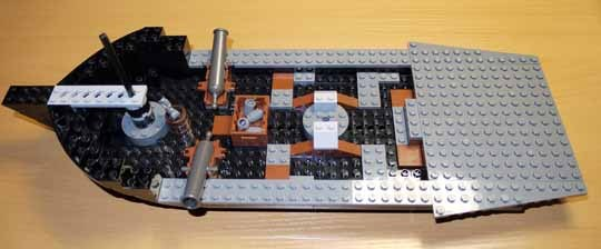 LEGO 4184 ブラックパール号 作成 3.jpg