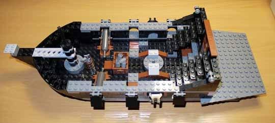 LEGO 4184 ブラックパール号 作成 4.jpg