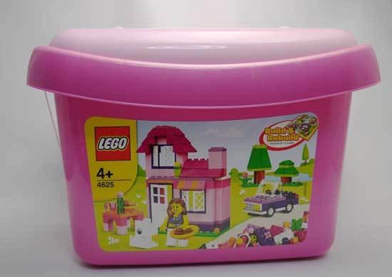 LEGO 4625 ピンクのコンテナと21000 ウィリス・タワー 2.jpg