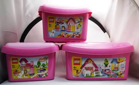 LEGO 4625 ピンクのコンテナと21000 ウィリス・タワー 3.jpg