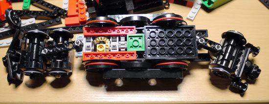LEGO 4841 ホグワーツ特急 作成2-3.jpg