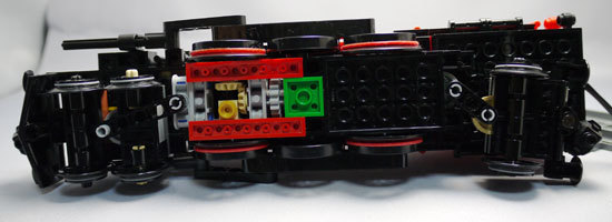 LEGO 4841 ホグワーツ特急 作成2-8.jpg