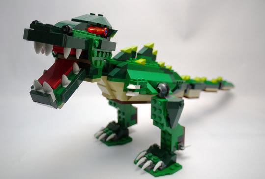 LEGO 5868 クリエイター・ワニ作成2-1.jpg