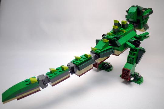 LEGO 5868 クリエイター・ワニ作成2-10.jpg