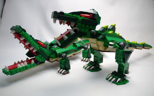 LEGO 5868 クリエイター・ワニ作成2-12.jpg