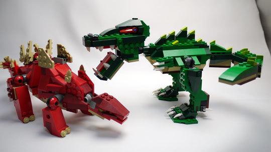 LEGO 5868 クリエイター・ワニ作成2-13.jpg