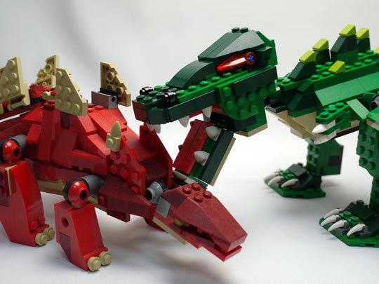 LEGO 5868 クリエイター・ワニ作成2-14.jpg