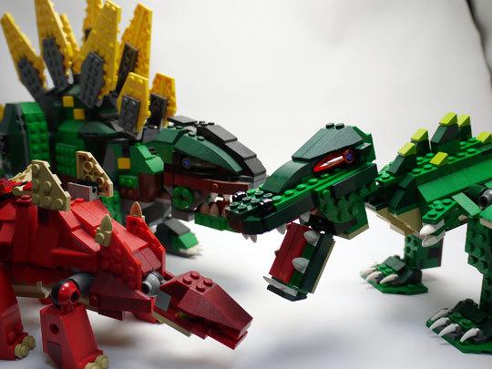 LEGO 5868 クリエイター・ワニ作成2-15.jpg