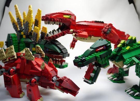 LEGO 5868 クリエイター・ワニ作成2-16.jpg