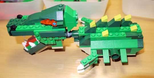 LEGO 5868 クリエイター・ワニ作成2-3.jpg