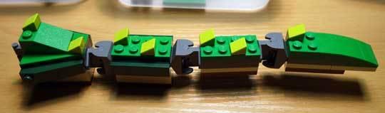 LEGO 5868 クリエイター・ワニ作成2-4.jpg