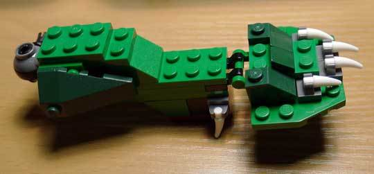 LEGO 5868 クリエイター・ワニ作成2-6.jpg