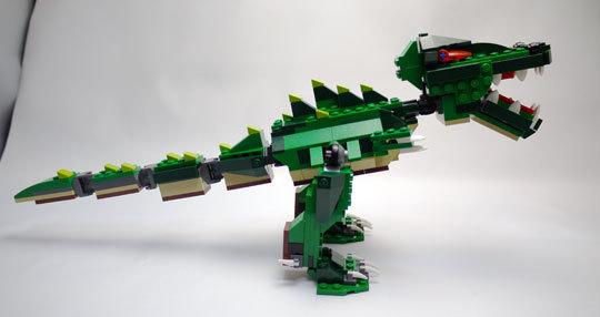 LEGO 5868 クリエイター・ワニ作成2-9.jpg