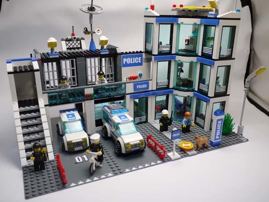 LEGO 7498 ポリスステーション 作成6.jpg