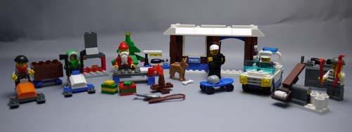 LEGO 7553 レゴ シティ・アドベントカレンダー組立 1.jpg