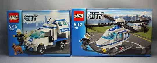 LEGO 7741 警察ヘリコプターと7285 ポリスバン 1.jpg