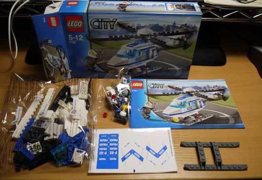 LEGO 7741 警察ヘリコプター作成2.jpg